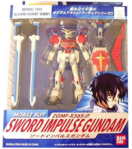 Image for Kidou Senshi Gundam SEED Destiny - ZGMF-X56S/β Sword Impulse Gundam - Mobile Suit in Action!! (Bandai)