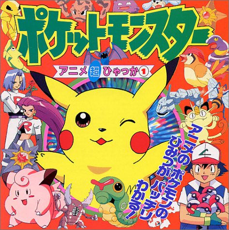 Image for Pokemon Animation Chouhyakka #1 Encyclopedia Art Book