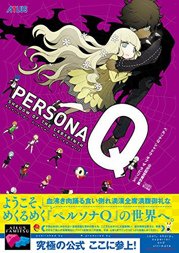 Image 1 for Persona Q: Shadow Of The Labyrinth Official Visual Material