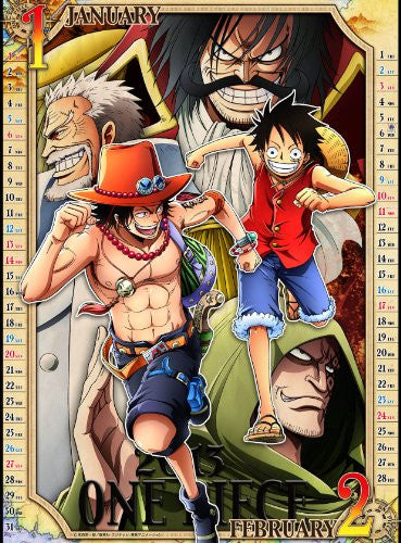 Image 2 for One Piece - Wall Calendar (Toei Animation, Try-X)[Magazine]