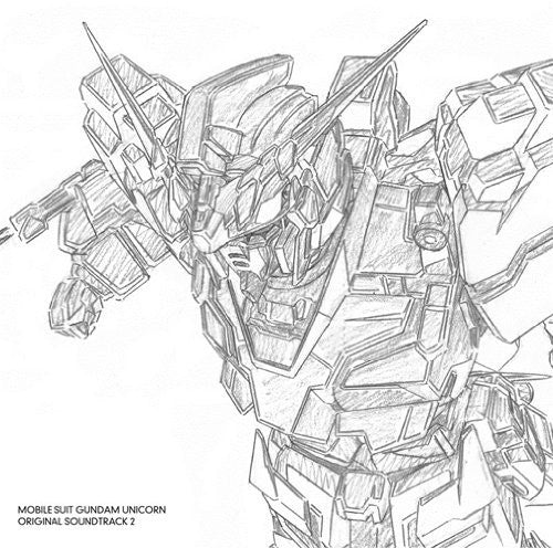 Image 1 for MOBILE SUIT GUNDAM UNICORN ORIGINAL SOUNDTRACK 2