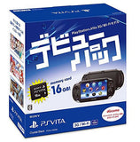 Thumbnail 2 for Playstation Vita Debut Pack Crystal Black