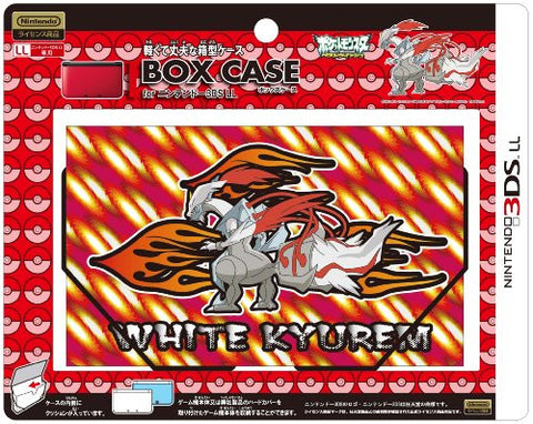 Image for Box Case for 3DS LL (White Kyurem Over Drive)