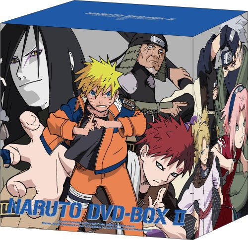 Image 1 for Naruto DVD Box 2 Shido Konoha Kuzushi [Limited Edition]