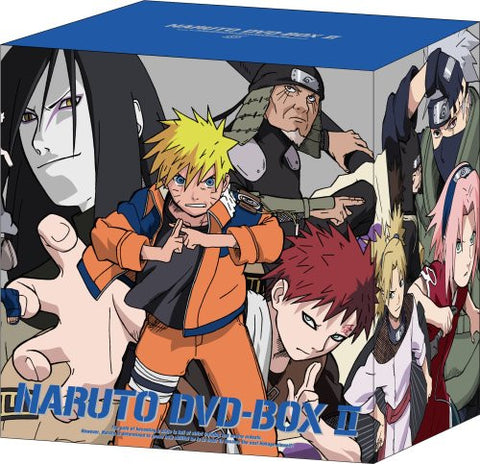 Image for Naruto DVD Box 2 Shido Konoha Kuzushi [Limited Edition]