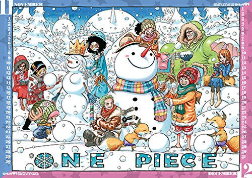 Image 3 for One Piece - Comic Calendar - Wall Calendar - 2015 (Shueisha)[Magazine]