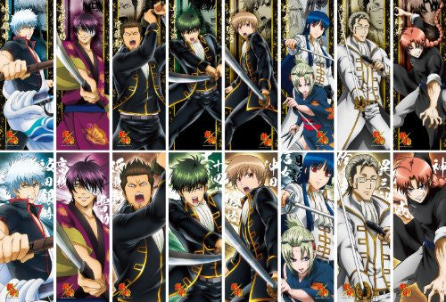 Image 1 for Gintama - Imai Nobume - Tsukuyo - Chara-Pos Collection - Gintama Chara-Pos Collection 9 - Stick Poster (Ensky, Showa Note)