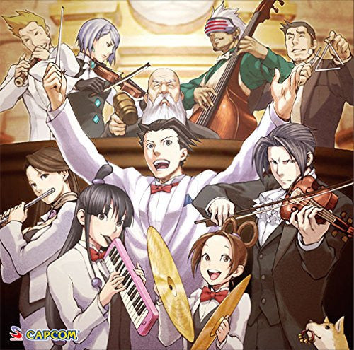 Image 1 for GYAKUTEN SAIBAN MEETS AGAIN ~Orchestra & Jazz~