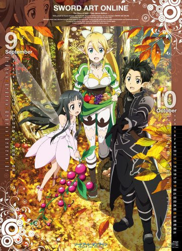 Image 2 for Sword Art Online - Wall Calendar - 2014 (Try-X)[Magazine]