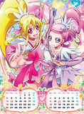 Thumbnail 2 for Doki Doki! Precure - Wall Calendar - 2014 (Try-X)[Magazine]