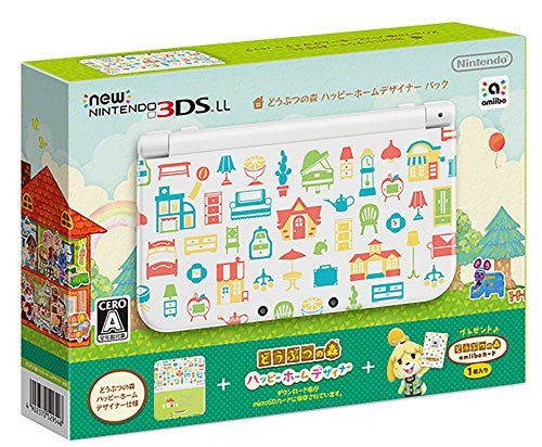 Image 1 for NEW NINTENDO 3DS LL [DOUBUTSU NO MORI: HAPPY HOME DESIGNER PACK]