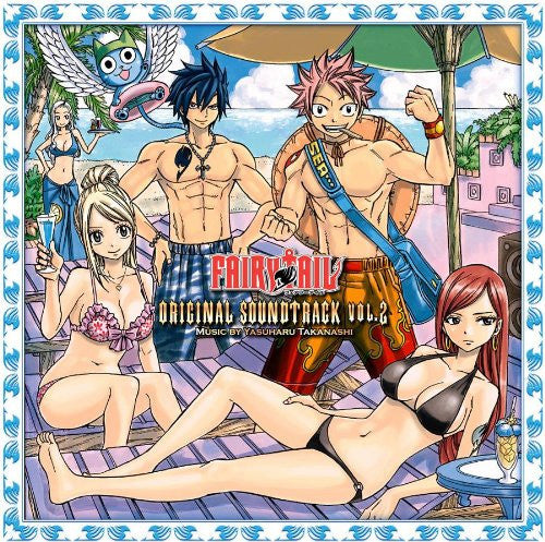 Image 1 for FAIRY TAIL ORIGINAL SOUNDTRACK VOL.2