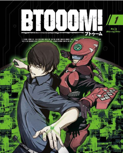 Image 1 for Btooom 01 [Blu-ray+CD Limited Edition]