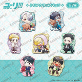 Thumbnail 1 for Yuri!!! on Ice - Clear Clip Badge - Set