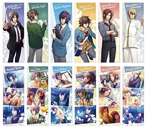 Image 1 for Hakuouki SSL ~Sweet School Life~ - Saitou Hajime - Clear Poster - Hakuouki SSL Sweet School Life - Clear Poster Collection (Gift)