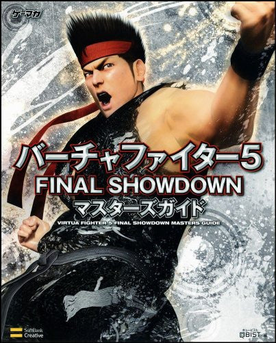 Image 1 for Virtua Fighter 5 Final Showdown Masters Guide Book / Arcade