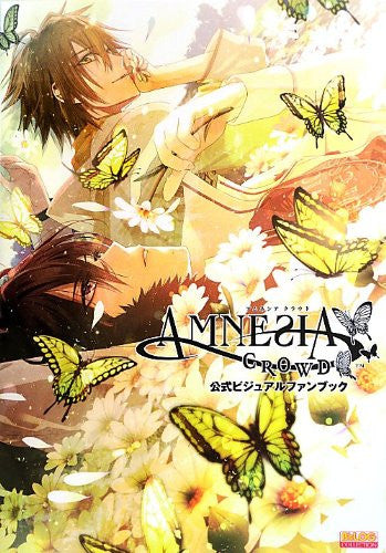 Image 1 for Amnesia Crowd   B's Log Collection   Official Visual Fan Book