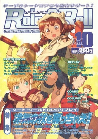 Image for Role&Roll #10 Japanese Tabletop Role Playing Game Magazine