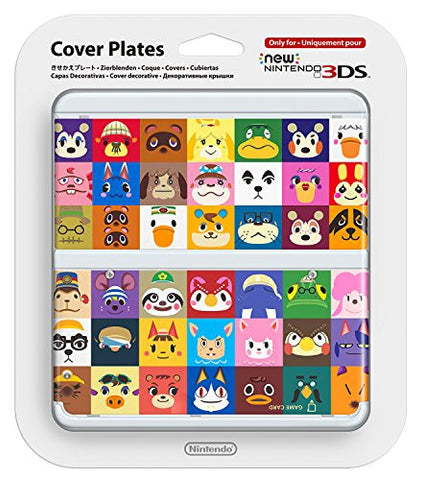 Image for New Nintendo 3DS Cover Plates No.068 (Animal Crossing)