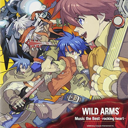 Image 1 for WILD ARMS Music the Best -rocking heart-