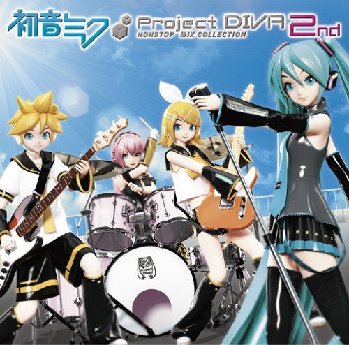 Image 1 for Miku Hatsune -Project DIVA- 2nd NONSTOP MIX COLLECTION