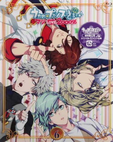 Uta No Prince-Sama Maji Love 2000% Vol.6 [Blu-ray+CD]