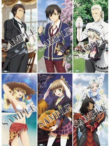 Image 2 for Tales of Xillia - Wall Calendar - 2013 (Try-X, Ensky)[Magazine]