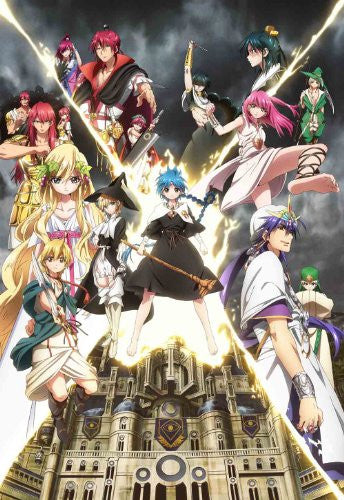 Image 1 for Magi - The Kingdom Of Magic Vol.8 [Blu-ray+CD Limited Edition]