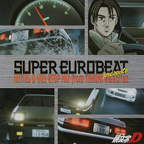 Image 1 for SUPER EUROBEAT presents INITIAL D NON STOP MIX from TAKUMI-selection