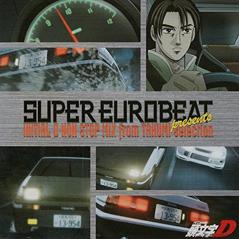 Image for SUPER EUROBEAT presents INITIAL D NON STOP MIX from TAKUMI-selection