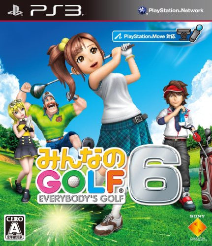 Image 1 for Minna no Golf 6