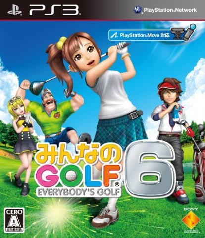 Image for Minna no Golf 6