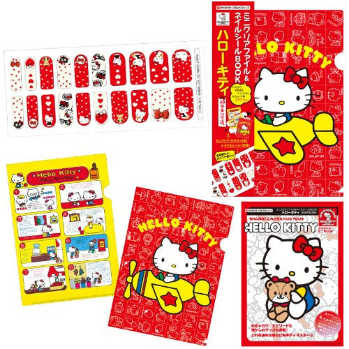 Image 6 for Hello Kitty   Mini Clear File And Nail Seal Book