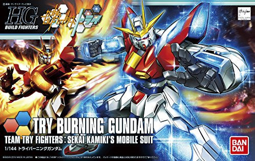 Image 3 for Gundam Build Fighters Try - TBG-011B Try Burning Gundam - HGBF #028 - 1/144 (Bandai)