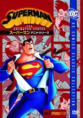 Image for Superman Anime Series Disc2 [Limited Pressing]