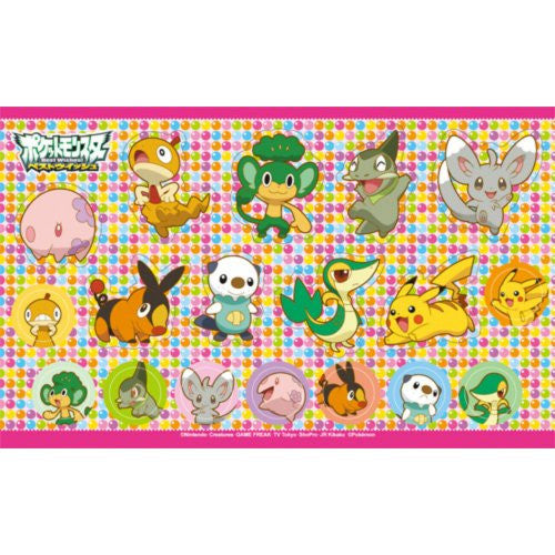 Image 3 for Pocket Monster Card Case 6 Seal Set for Nintendo 3DS (Best Wish Version)