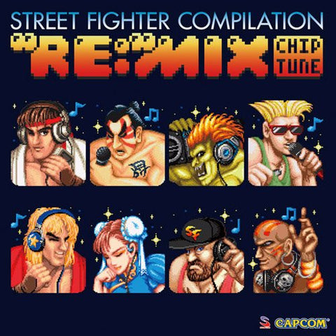 "Image for Street Fighter Compilation ""RE:""MIX Chiptune"
