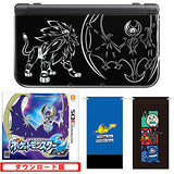 Thumbnail 2 for New Nintendo 3DS LL Solgaleo & Lunaala Black - Moon Set (incl. Pouch)