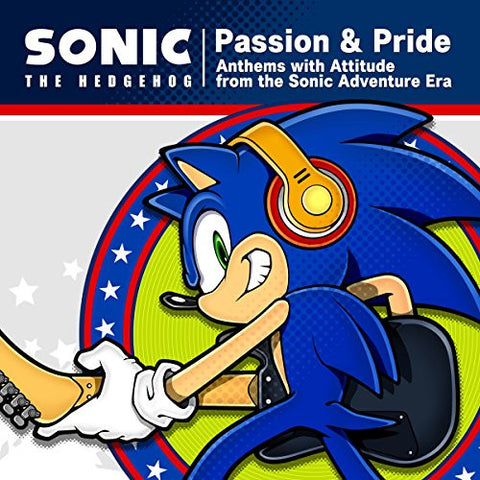 Image for Passion & Pride: Anthems with Attitude from the Sonic Adventure Era