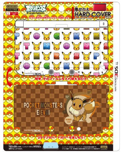 Dress-up Hard Cover for Nintendo 3DS LL (Pikachu & Eievui)