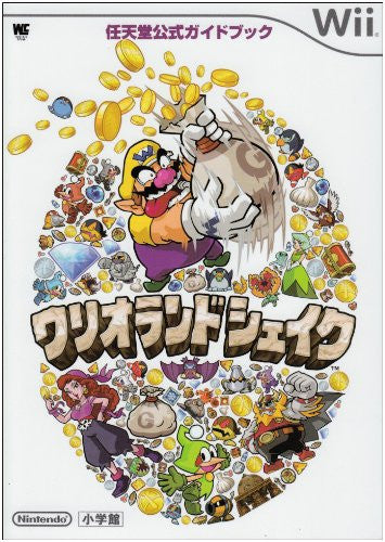 Wario Land Shake Wii Nintendo Official Guide Book