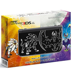 New Nintendo 3DS LL Solgaleo & Lunaala Black - Moon Set (incl. Pouch)