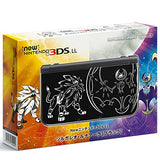 Thumbnail 1 for New Nintendo 3DS LL Solgaleo & Lunaala Black - Sun Set (incl. Pouch)