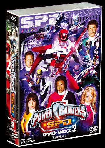 Image 2 for Power Rangers S.P.D. DVD Box 2