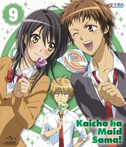 Image 1 for Maid Sama! 9 [Blu-ray+DVD+CD Limited Edition]