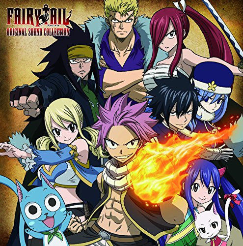 Image 1 for FAIRY TAIL ORIGINAL SOUND COLLECTION