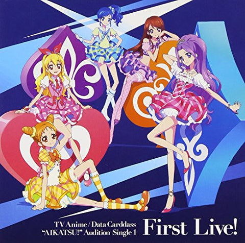 Image for Aikatsu! Audition Single 1 First Live!