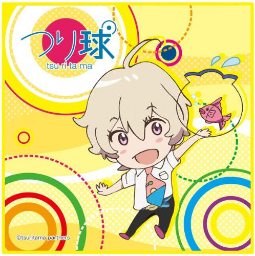 Image 1 for Tsuritama - Haru - Mini Towel - Towel (Chara-Ani)