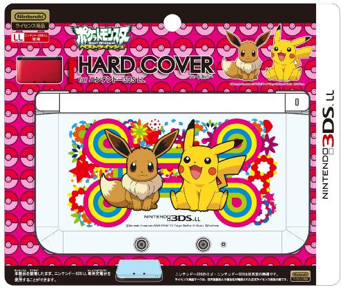 Image 2 for Pocket Monsters Hard Cover for Nintendo 3DS LL (Pikachu & Eievui)