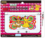 Thumbnail 2 for Pocket Monsters Hard Cover for Nintendo 3DS LL (Pikachu & Eievui)